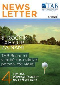 Obálka TAB Newsletter 092020
