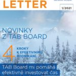 TAB Board Newsletter 01/2021