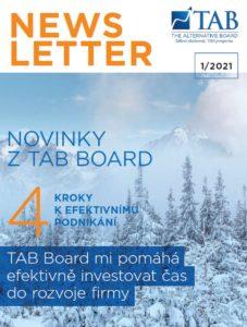 TAB Board Newsletter 01/2021