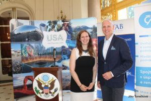 Šimon Mastný, Managing Partner TAB Board v rezidenci amerického velvyslance v ČR